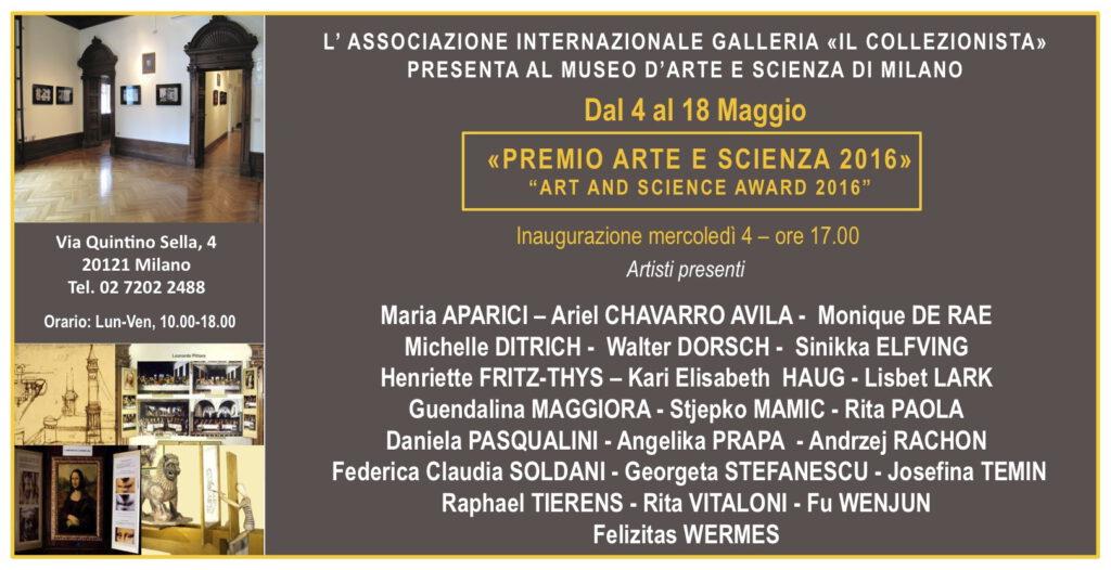 """Mostra Collettiva """"Premio Arte e Scienza"""""""