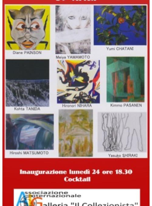 Mostra Collettiva di Artisti Giapponesi