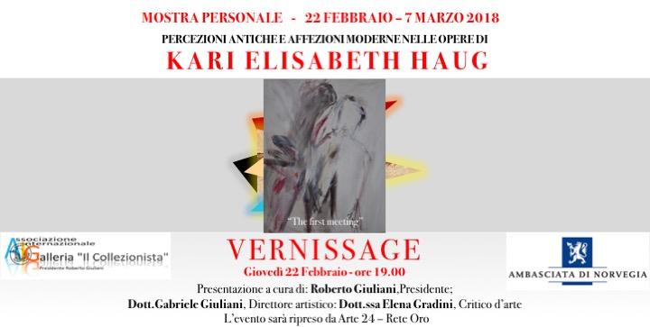 Mostra Personale di Kai Elisabeth Haug